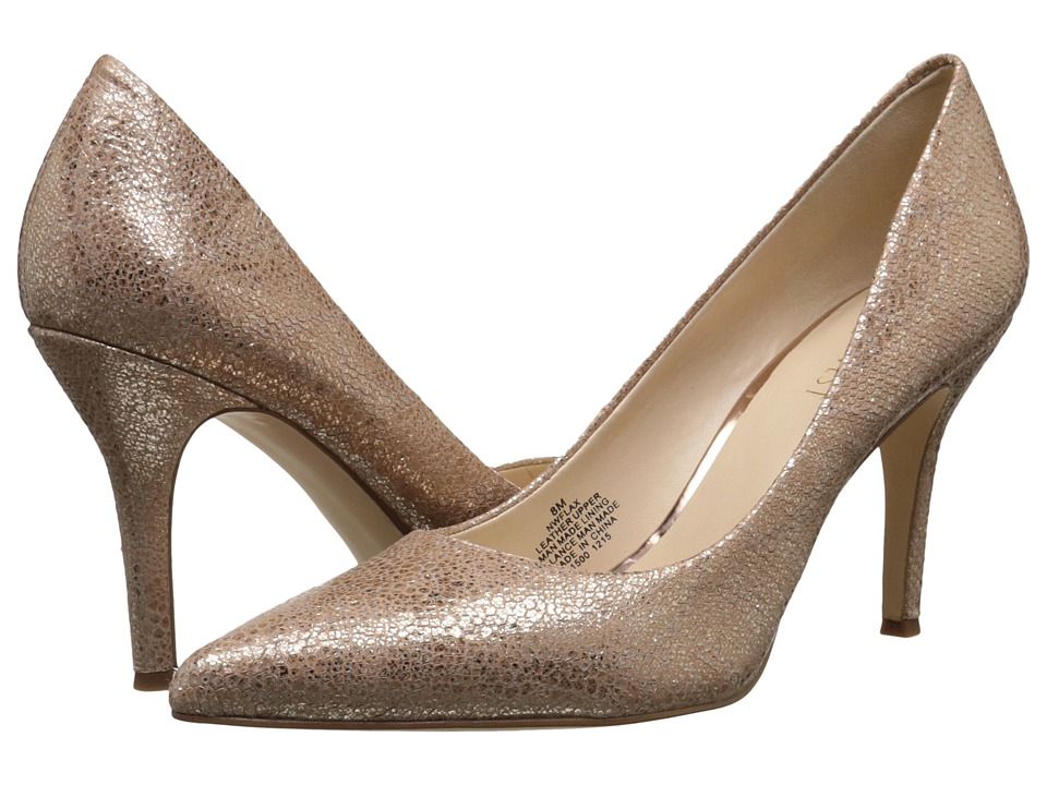 Nine West - Flax (Natural Metallic) High Heels