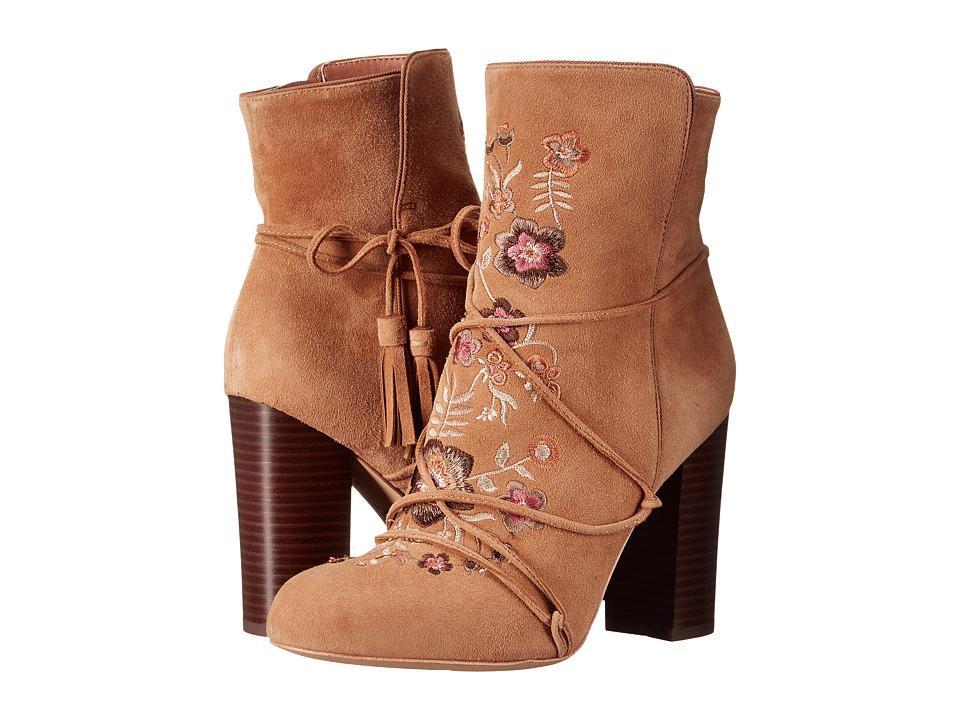 Sam Edelman - Winnie (Whiskey Suede Leather) Women's Dress Pull-on Boots
