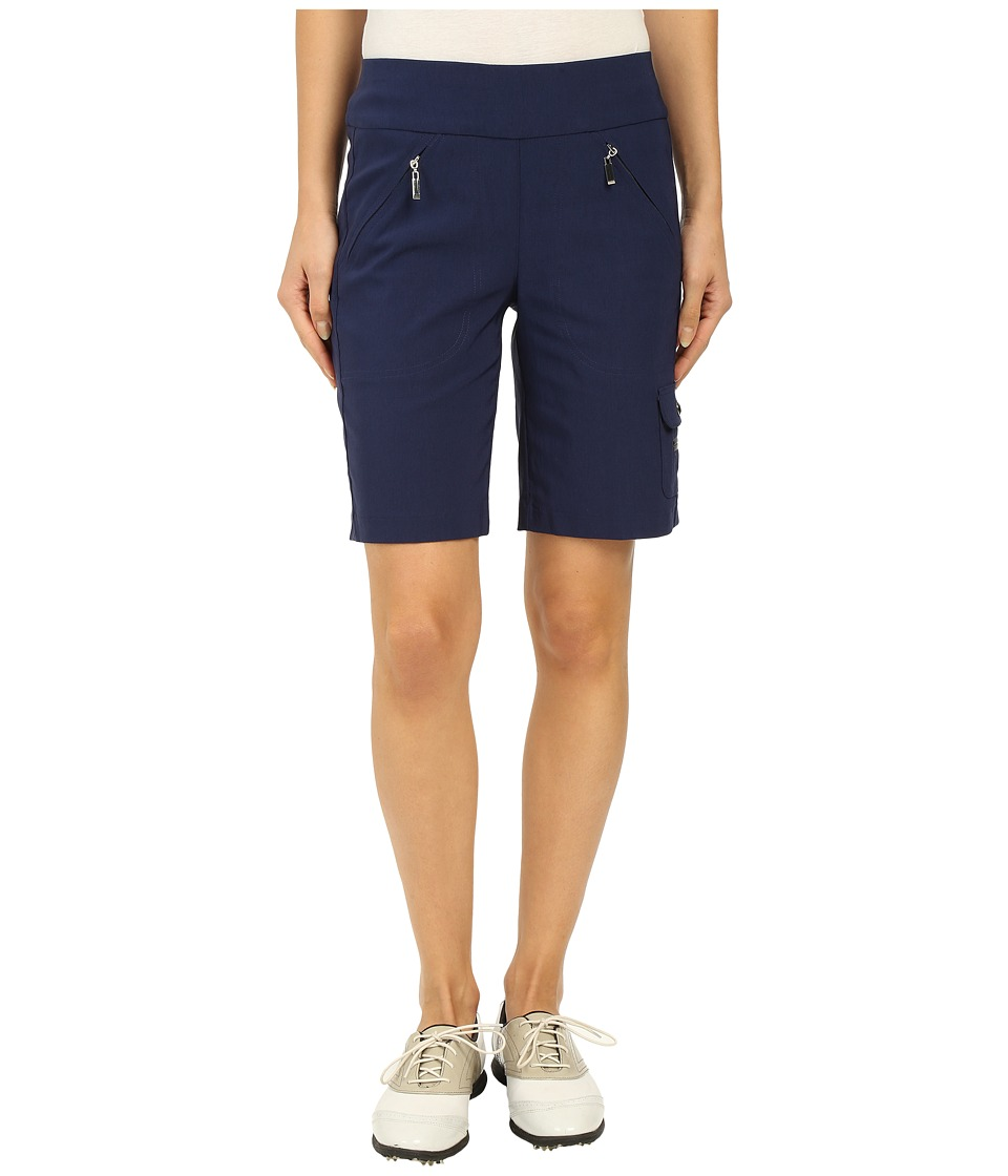Jamie Sadock - Skinnylicious Mesh Control Top Panel 19 in. Short (Nocturnal Navy) Women's Shorts