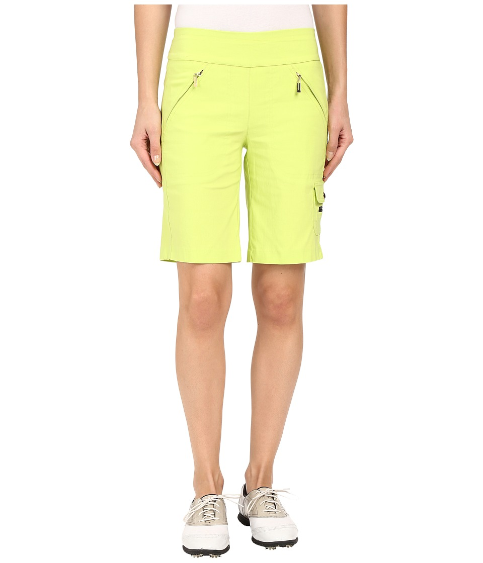 Jamie Sadock - Skinnylicious Mesh Control Top Panel 19 in. Short (Lime Crime) Women's Shorts
