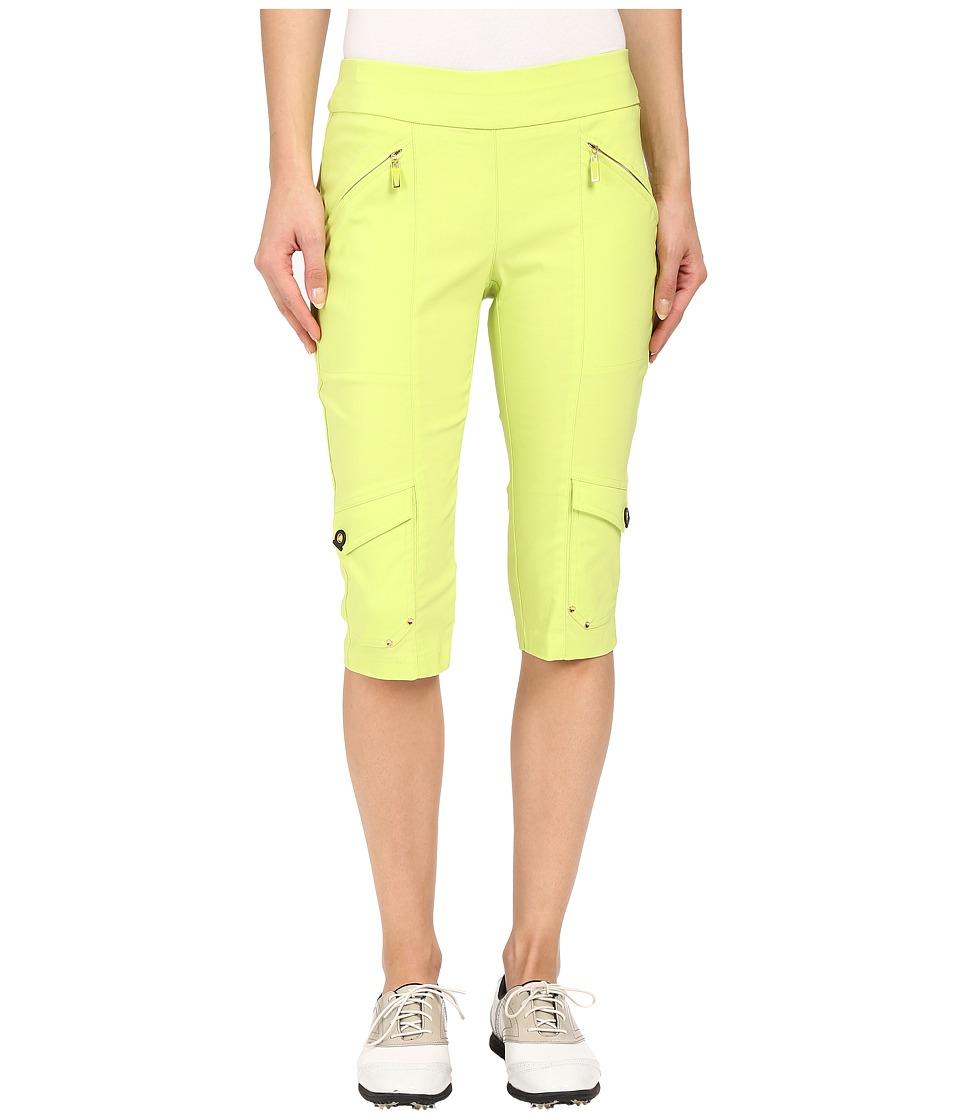Jamie Sadock - Skinnylicious 24 in. Knee Capri (Lime Crime) Women's Capri
