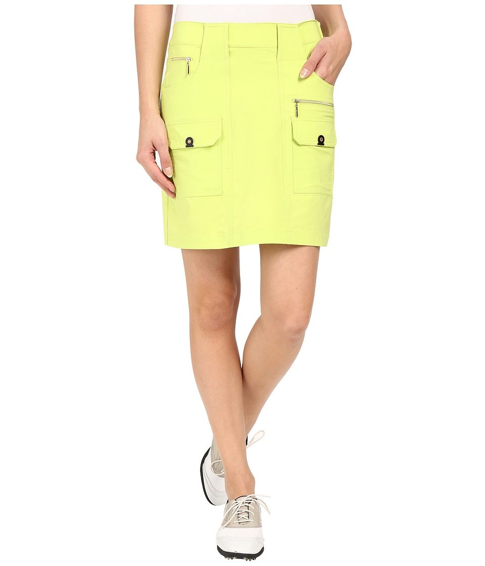 Jamie Sadock - Airwear Light Weight 18 in. Skort (Lime Crime) Women's Skort