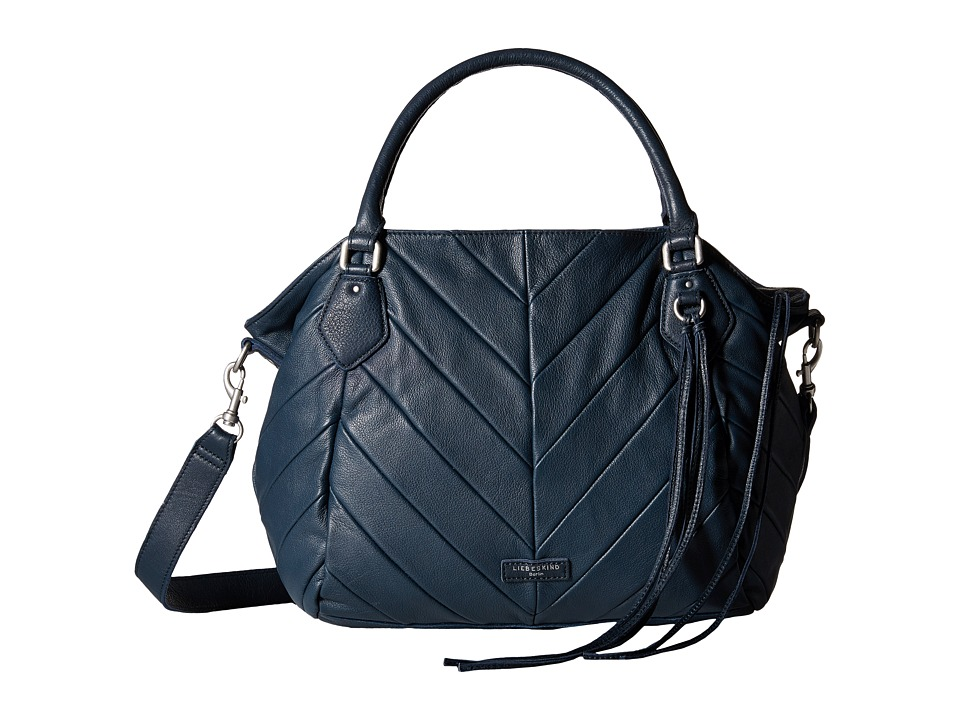 Liebeskind - Amanda (New Dark Blue) Satchel Handbags