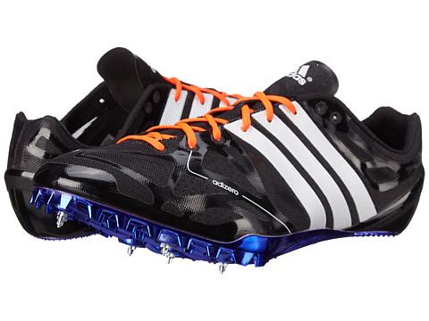 adidas - Adizero Prime Accelerator (Black/Solar Yellow/Solar Red) Athletic Shoes