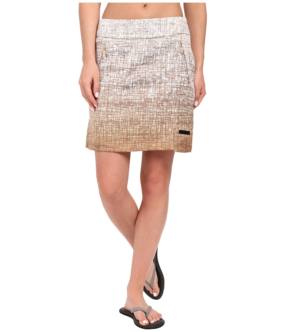 Jamie Sadock - Kashumi Print 18 Skort w/ Side Zipper and Button (Frappe) Women's Skort