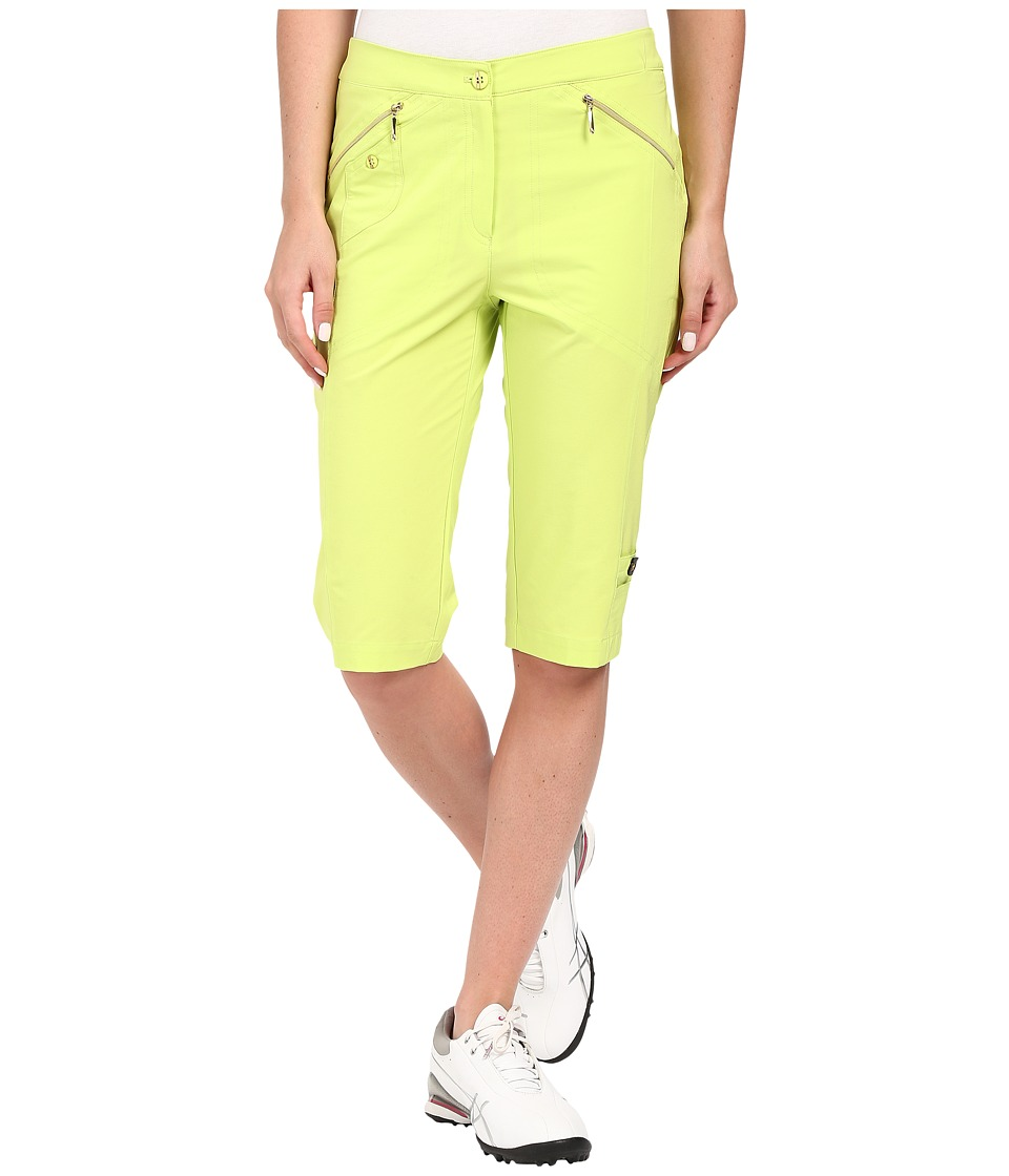 Jamie Sadock - Airwear Light Weight 24 in. Knee Capri (Lime Crime) Women's Capri