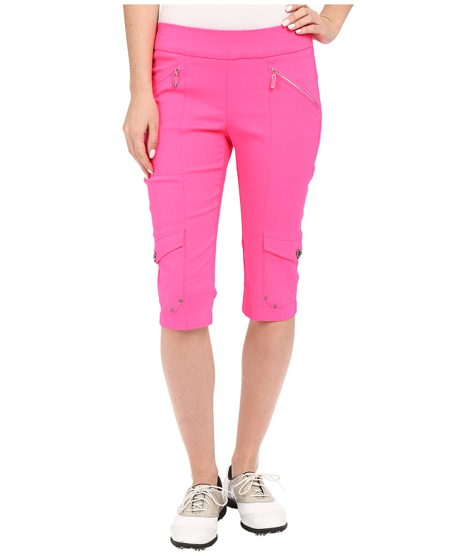 Jamie Sadock - Skinnylicious 24 in. Knee Capri (Enchantress Pink) Women's Capri