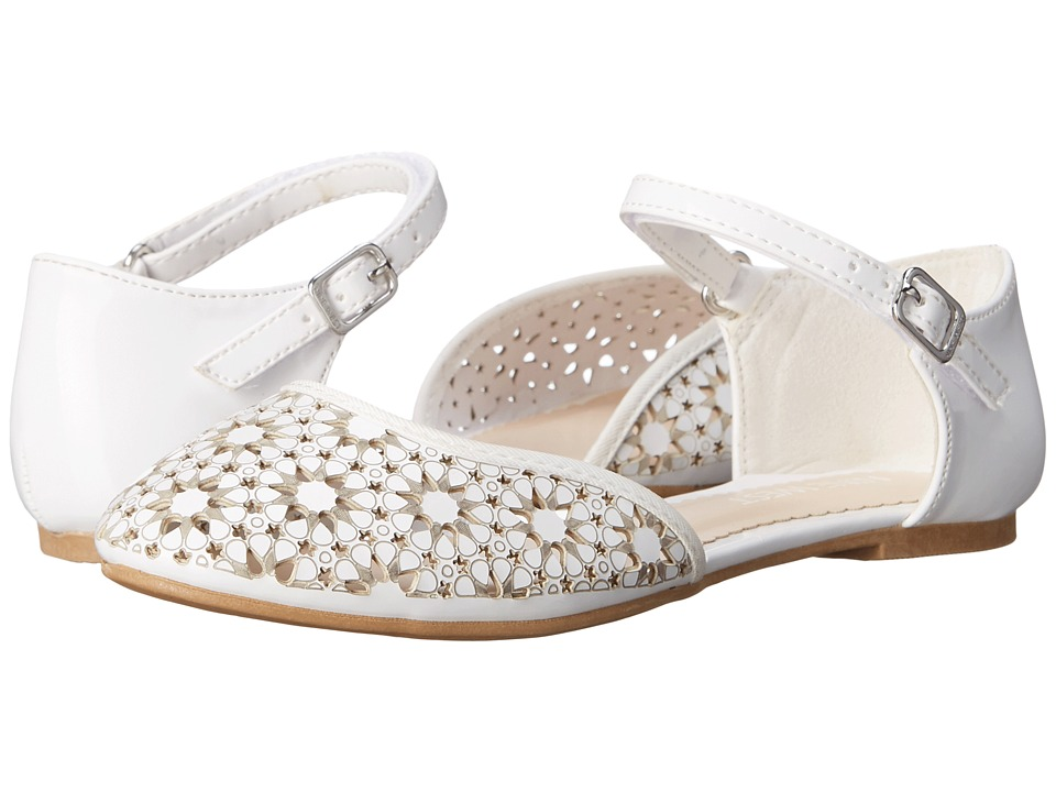 Nine West Kids - Faith (Little Kid/Big Kid) (White) Girl