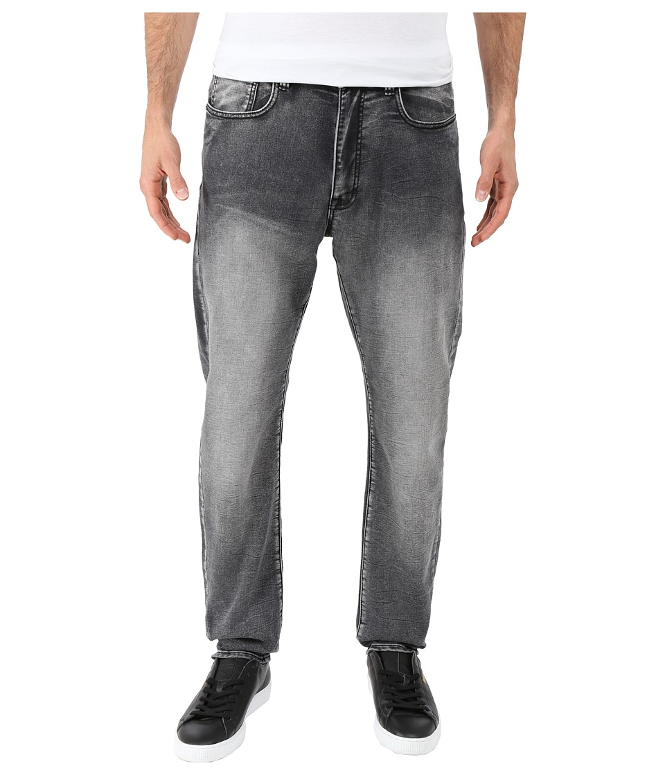 Kenneth Cole Sportswear - Experimental Denim Tapered in Grey Wash (Grey Wash) Men's Jeans