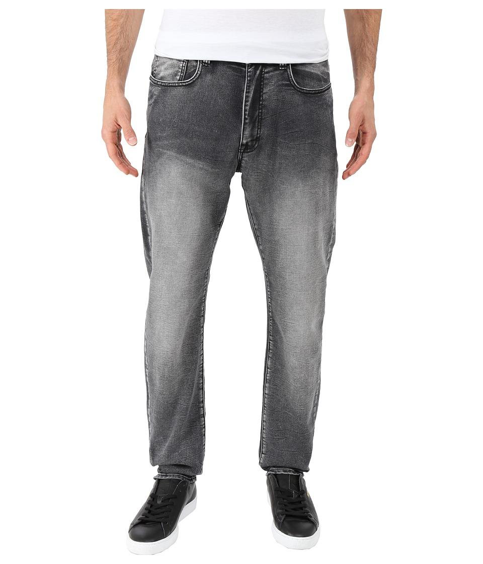 Kenneth Cole Sportswear - Experimental Denim Tapered in Grey Wash (Grey Wash) Men's Jeans