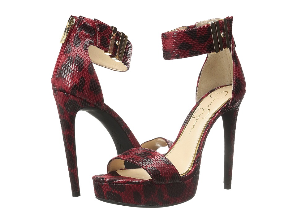 Jessica Simpson - Viera (Red) Women's Shoes