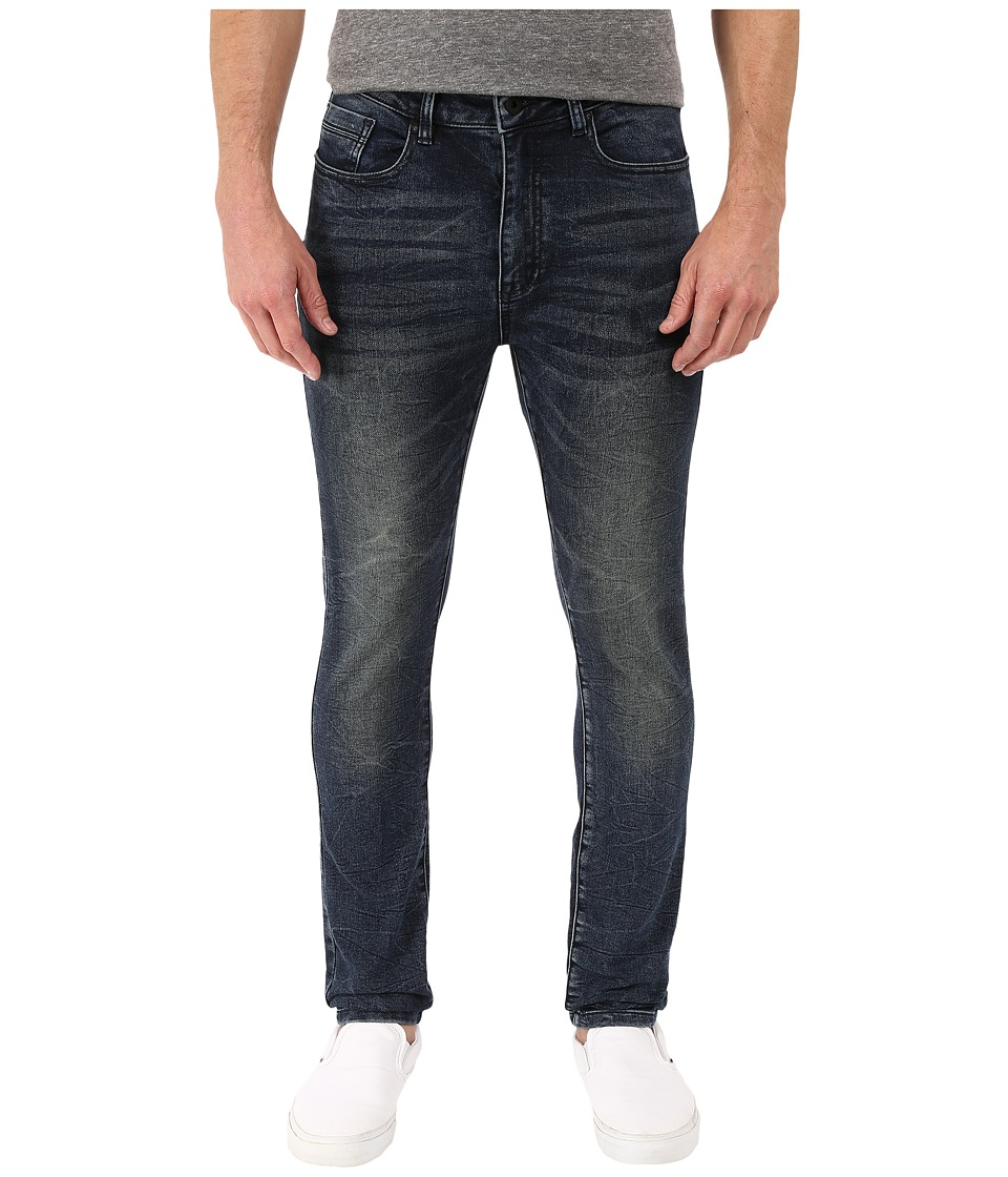 Kenneth Cole Sportswear - Experimental Skinny in Dark Indigo (Dark Indigo) Men's Jeans