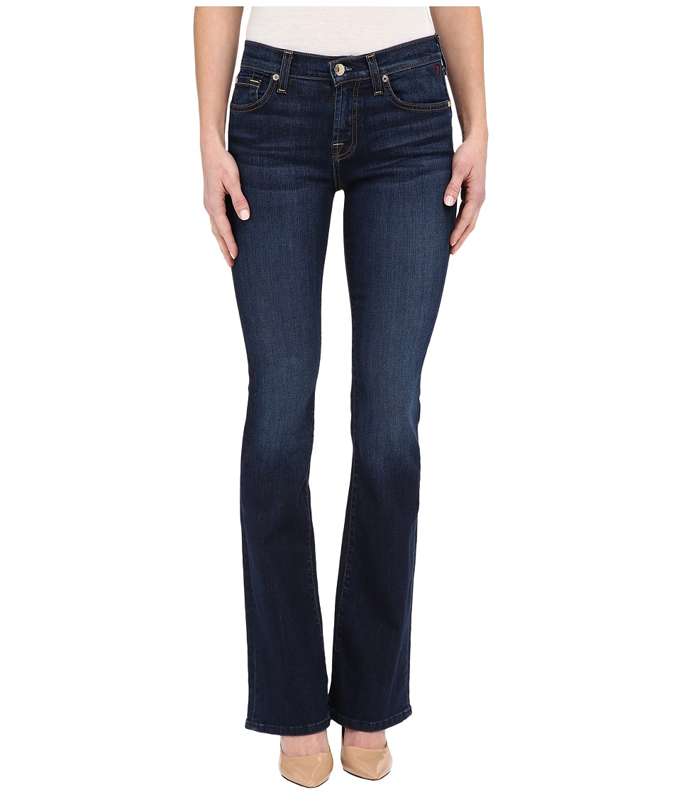 7 For All Mankind - Bootcut In New York Dark (New York Dark) Women's Jeans
