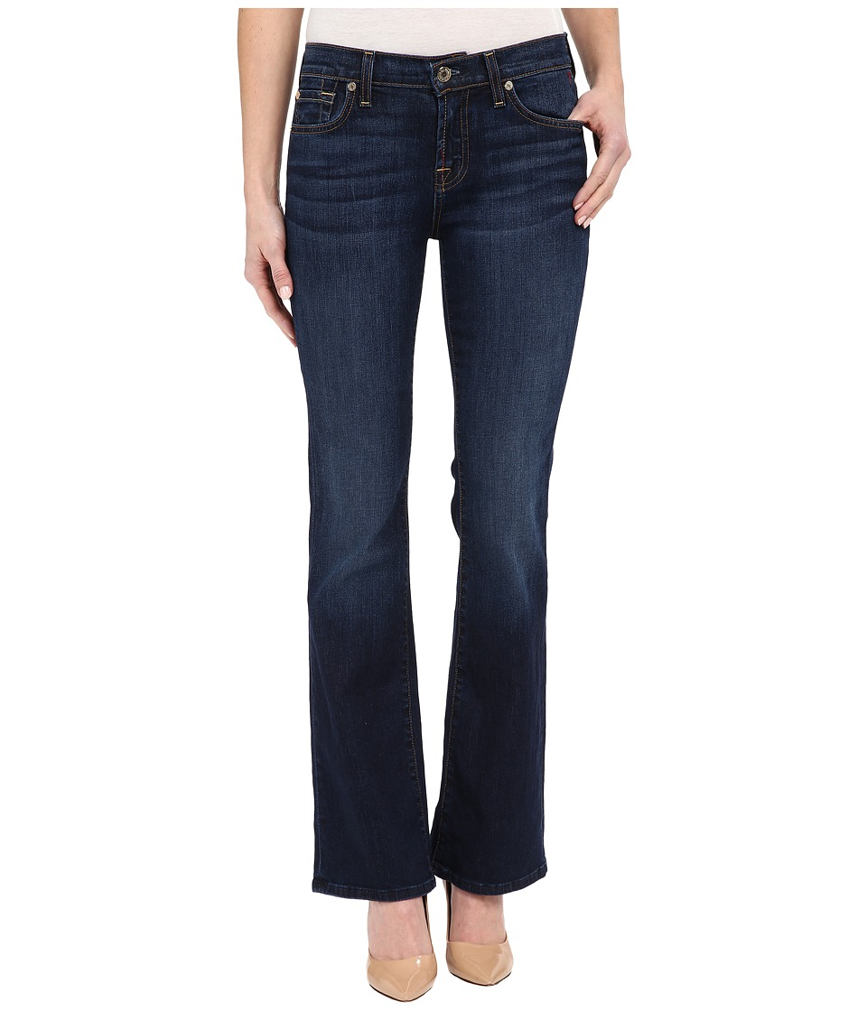 7 For All Mankind - Tailorless Bootcut in New York Dark (New York Dark) Women's Jeans