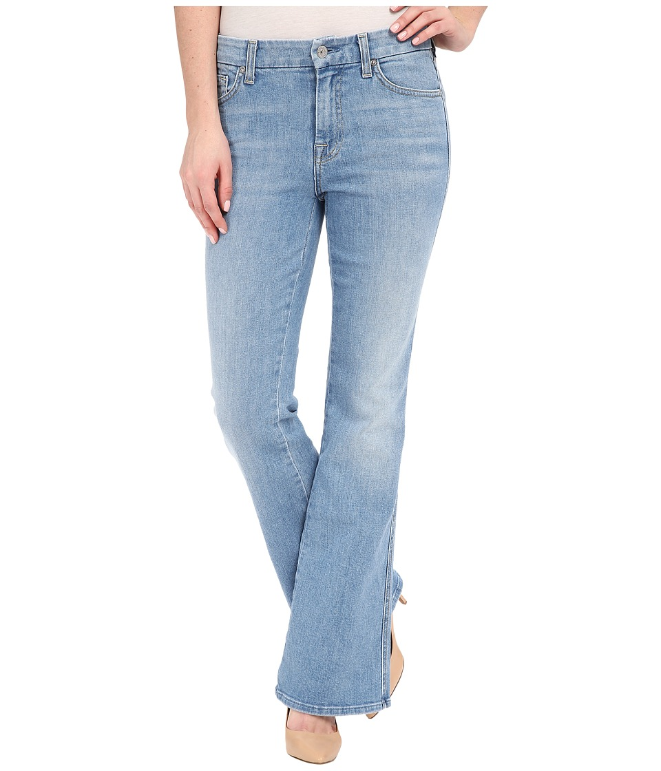 7 For All Mankind Tailorless A Pocket in Palisades Blue (Palisades Blue) Women