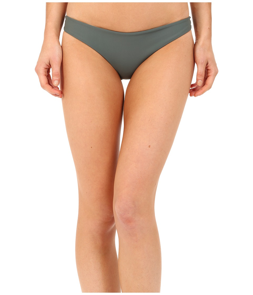 MIKOH SWIMWEAR - Zuma Full Coverage Bottom (Army) Women's Swimwear