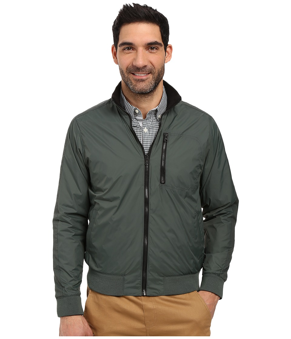 Kenneth Cole Sportswear - Reversible Bomber (Cave Combo) Men's Coat
