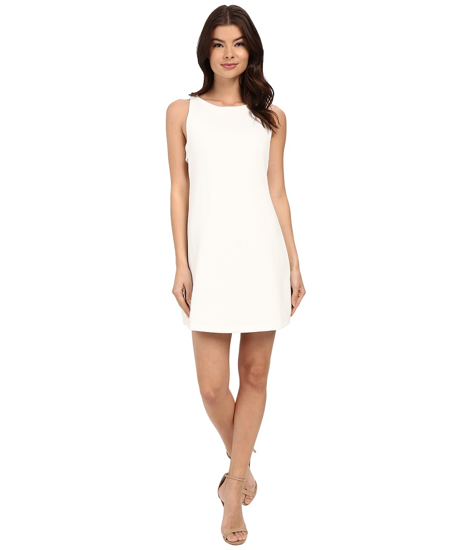 Brigitte Bailey - Quinn Textured Dress (White) Women's Dress