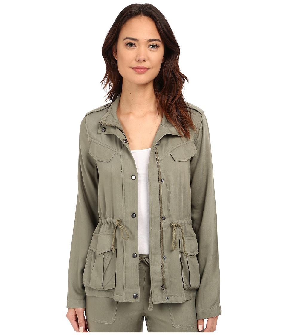 Brigitte Bailey - Bianca Military Jacket (Olive) Women's Coat