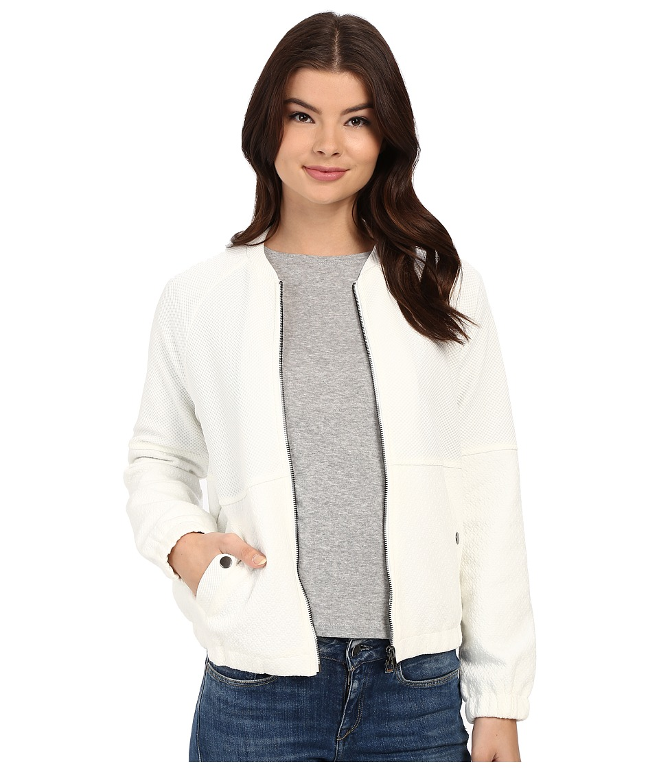 Brigitte Bailey - Ferry Bomber Jacket (White) Women's Coat