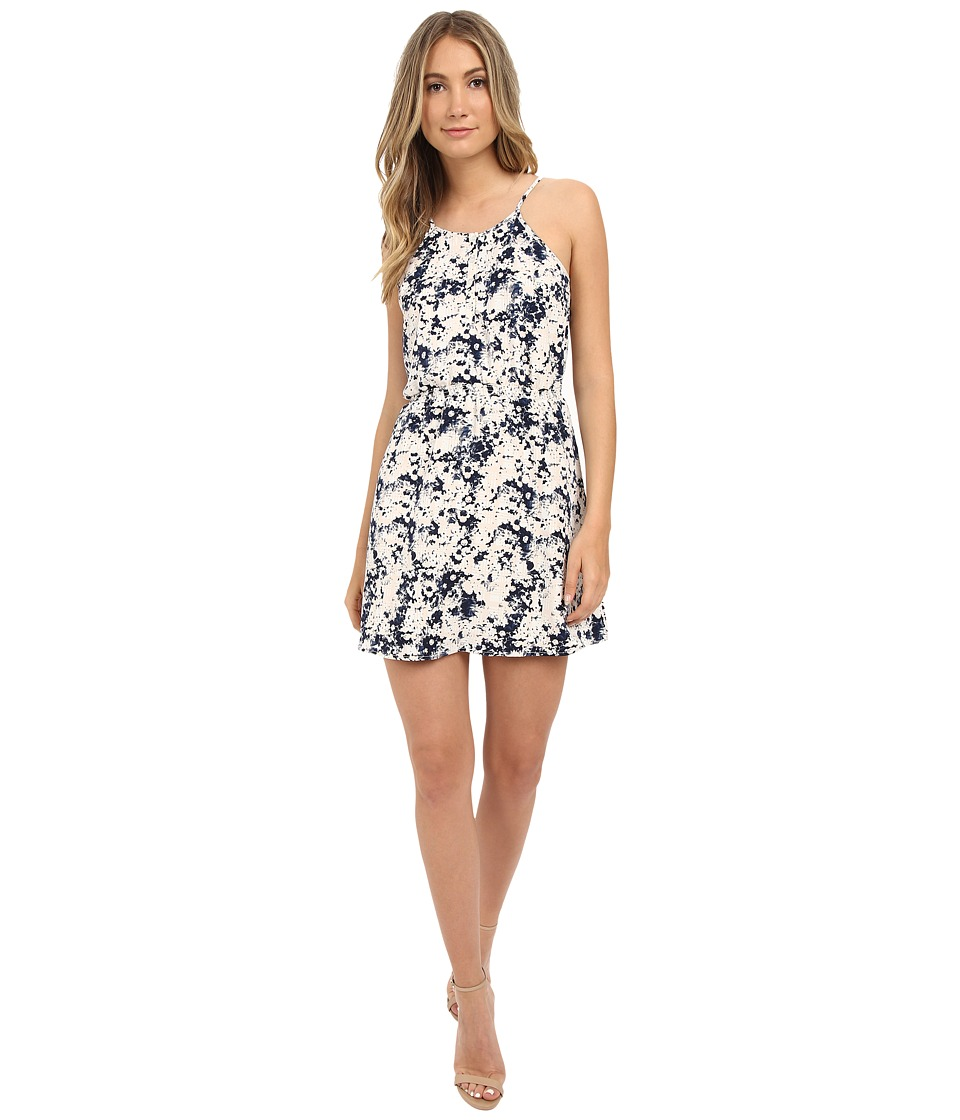 Brigitte Bailey - Penny Ditsy Print Dress (Navy Combo) Women
