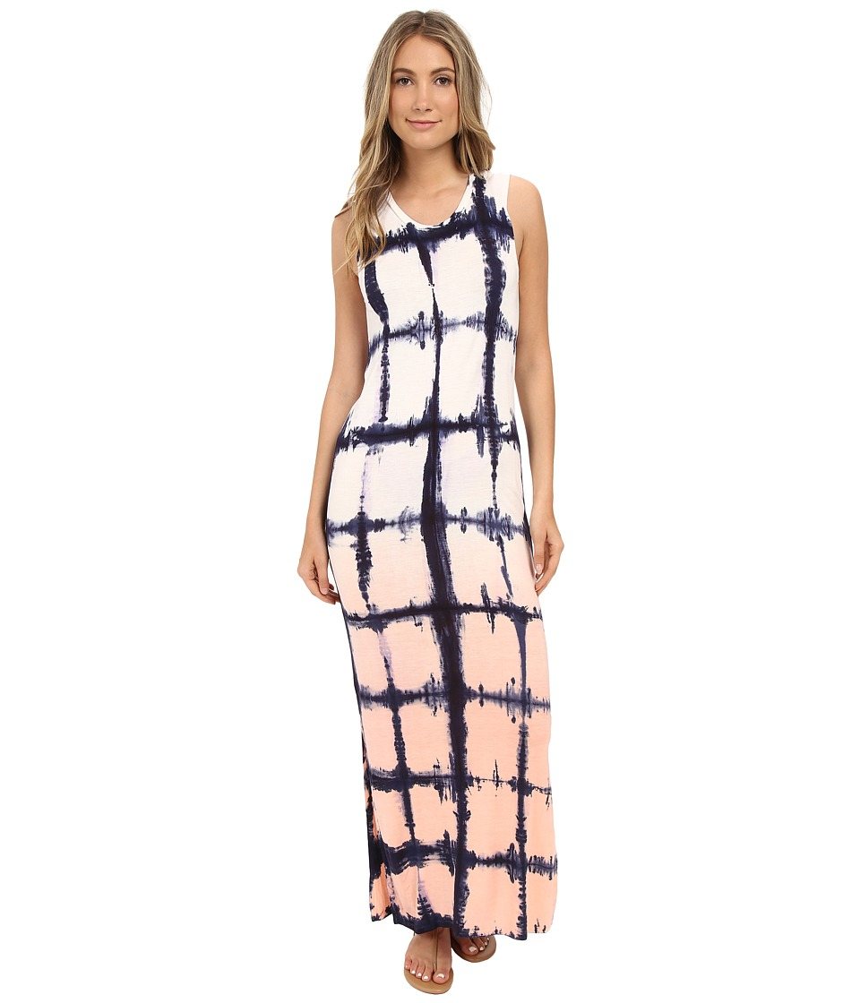 Brigitte Bailey - Tie-Dye Graphic Dress (Navy Combo) Women's Dress