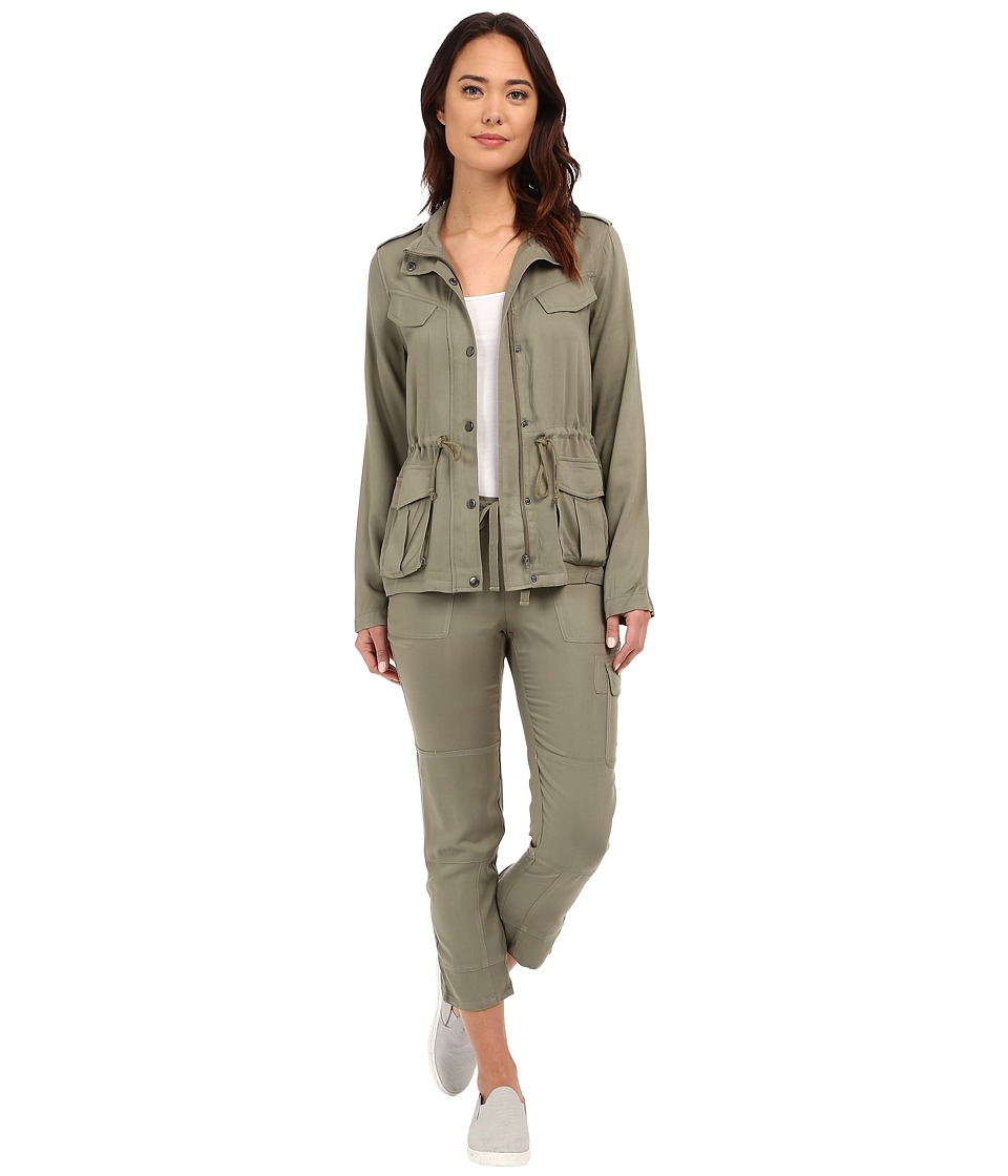 Brigitte Bailey Soft Cargo Pants (Olive) Women