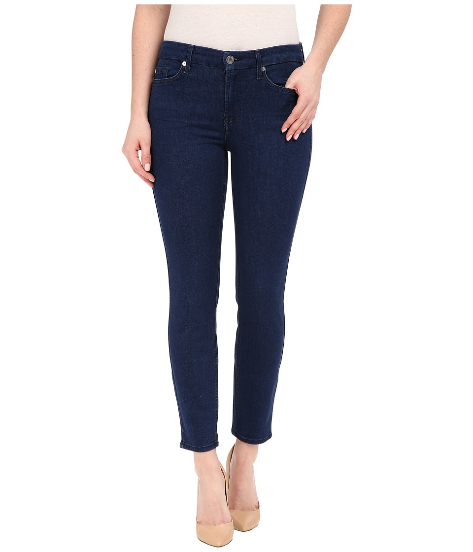 7 For All Mankind - Kimmie Crop in Slim Illusion Luxe Bright Rinse (Slim Illusion Luxe Bright Rinse) Women