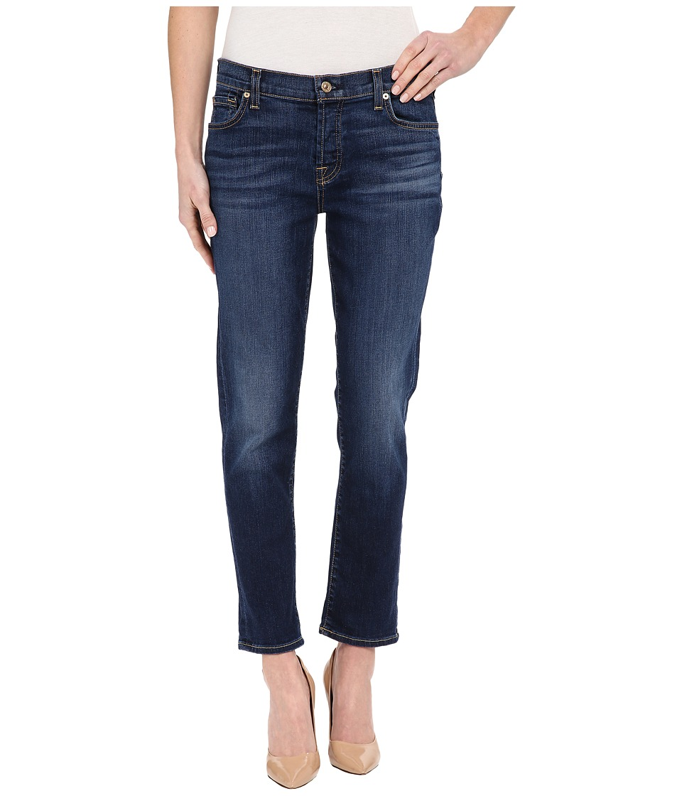 7 For All Mankind - Josefina in Medium Timeless Blue (Medium Timeless Blue) Women's Jeans