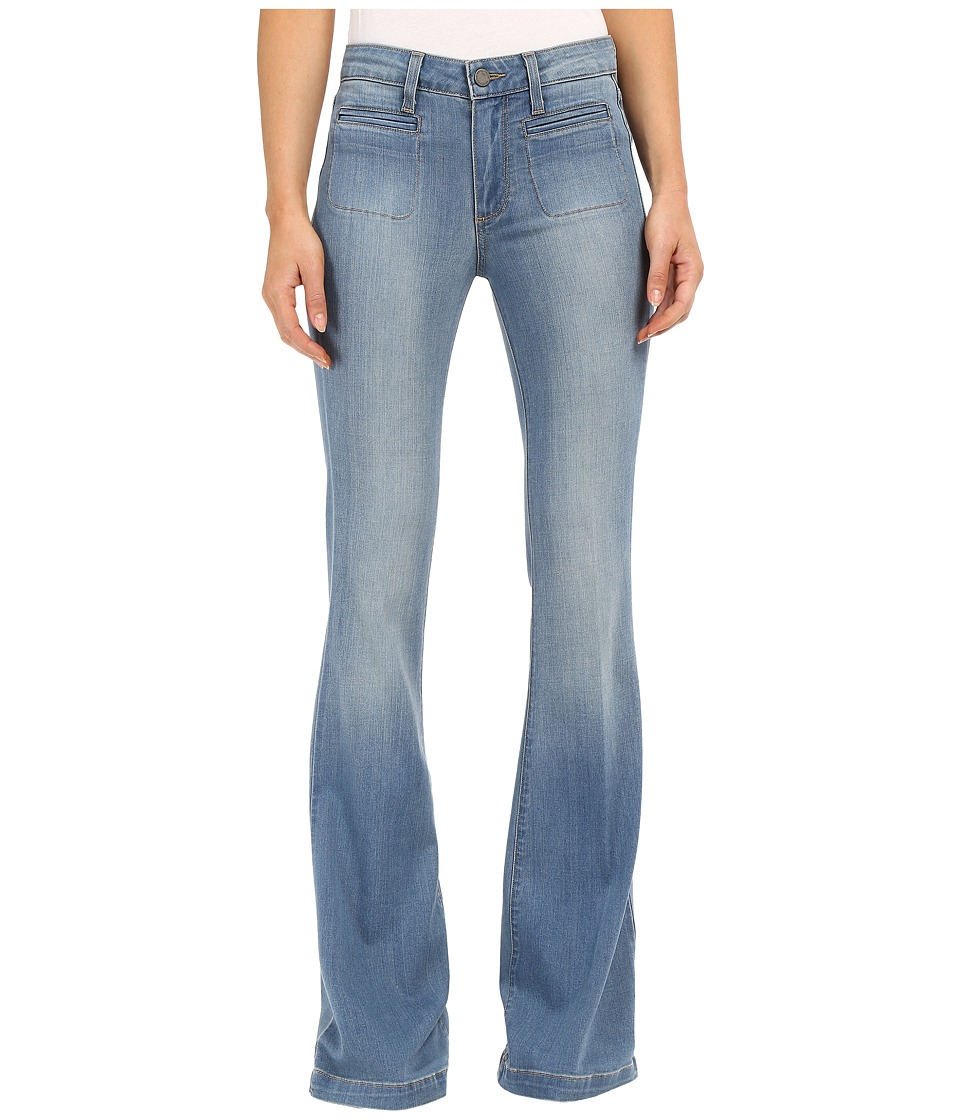 Paige - Vintage High Rise Bell Canyon in Aubrey No Whiskers (Aubrey No Whiskers) Women's Jeans