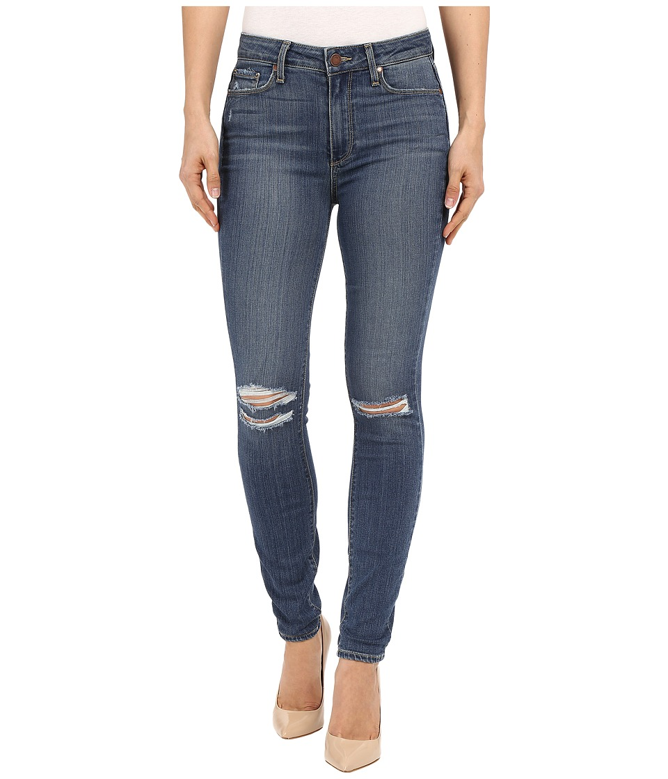 Paige - Hoxton Ankle in Jayla Destructed (Jayla Destructed) Women's Jeans