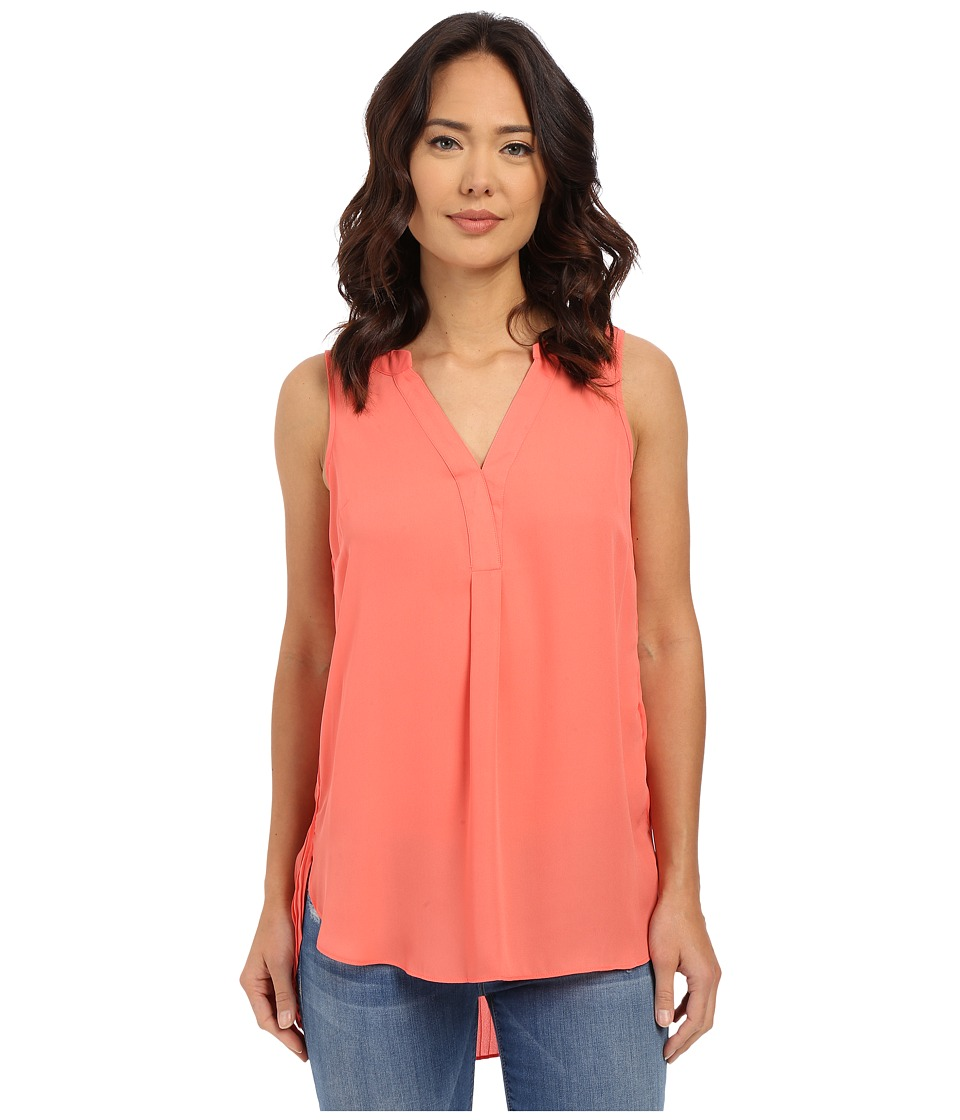 Christin Michaels - Picardie Top (Coral Reef) Women's Blouse