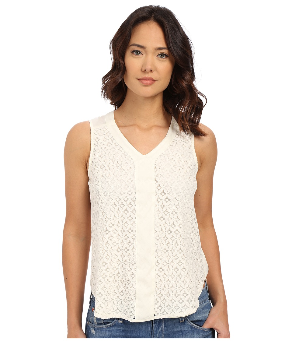 Christin Michaels - Centre Blouse (Ivory) Women's Blouse