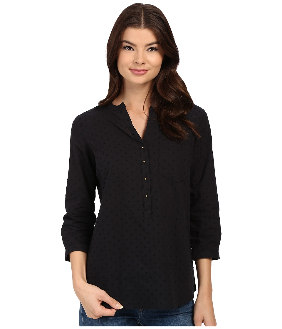 Christin Michaels - Rouen Top (Black) Women's Clothing