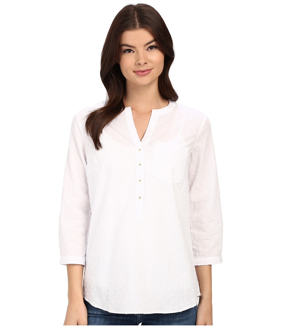 Christin Michaels - Rouen Top (White) Women's Clothing