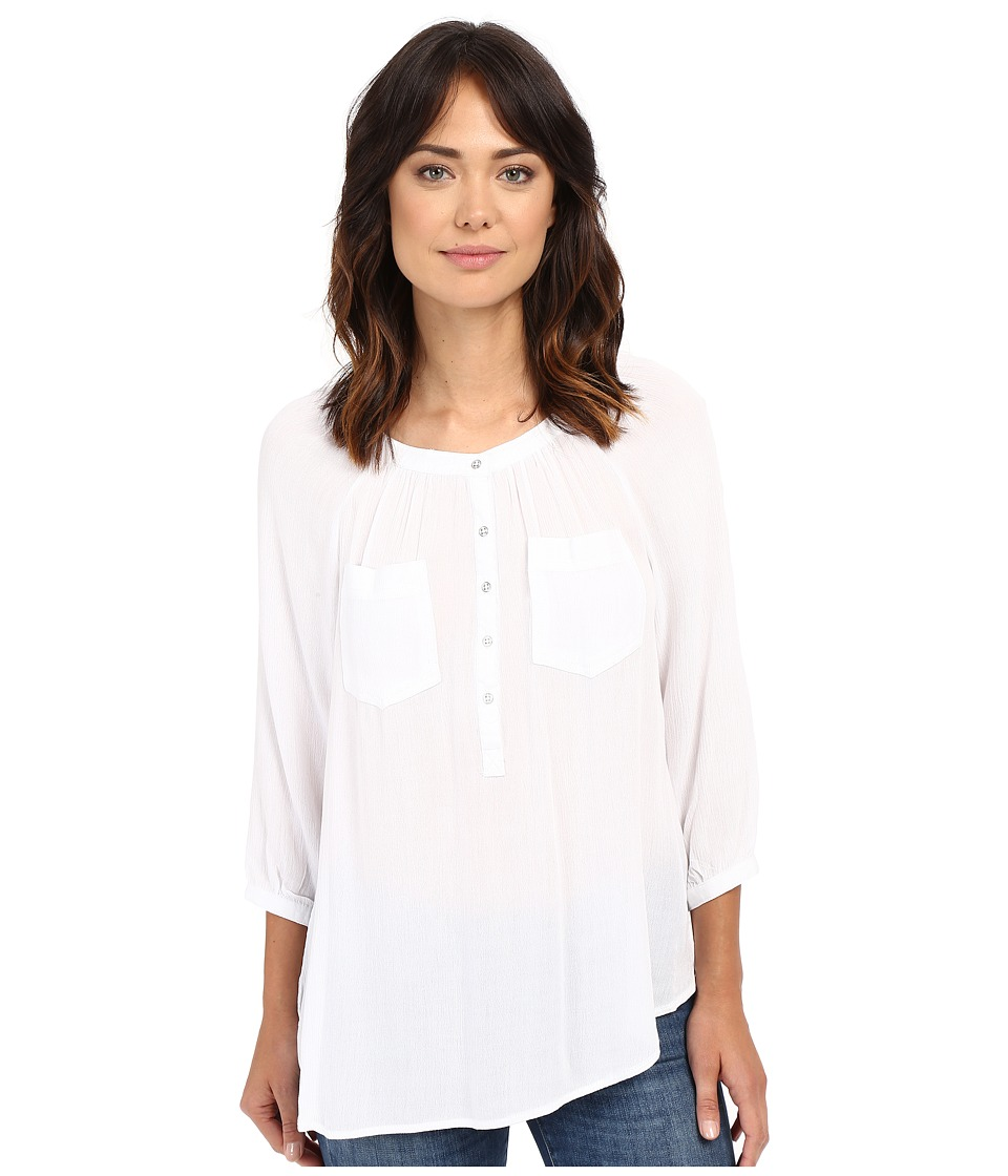 Christin Michaels - Seine Top (White) Women's Clothing