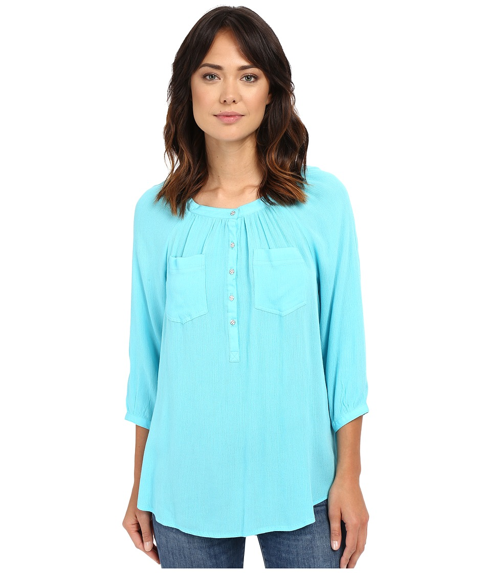 Christin Michaels - Seine Top (Capri) Women's Clothing