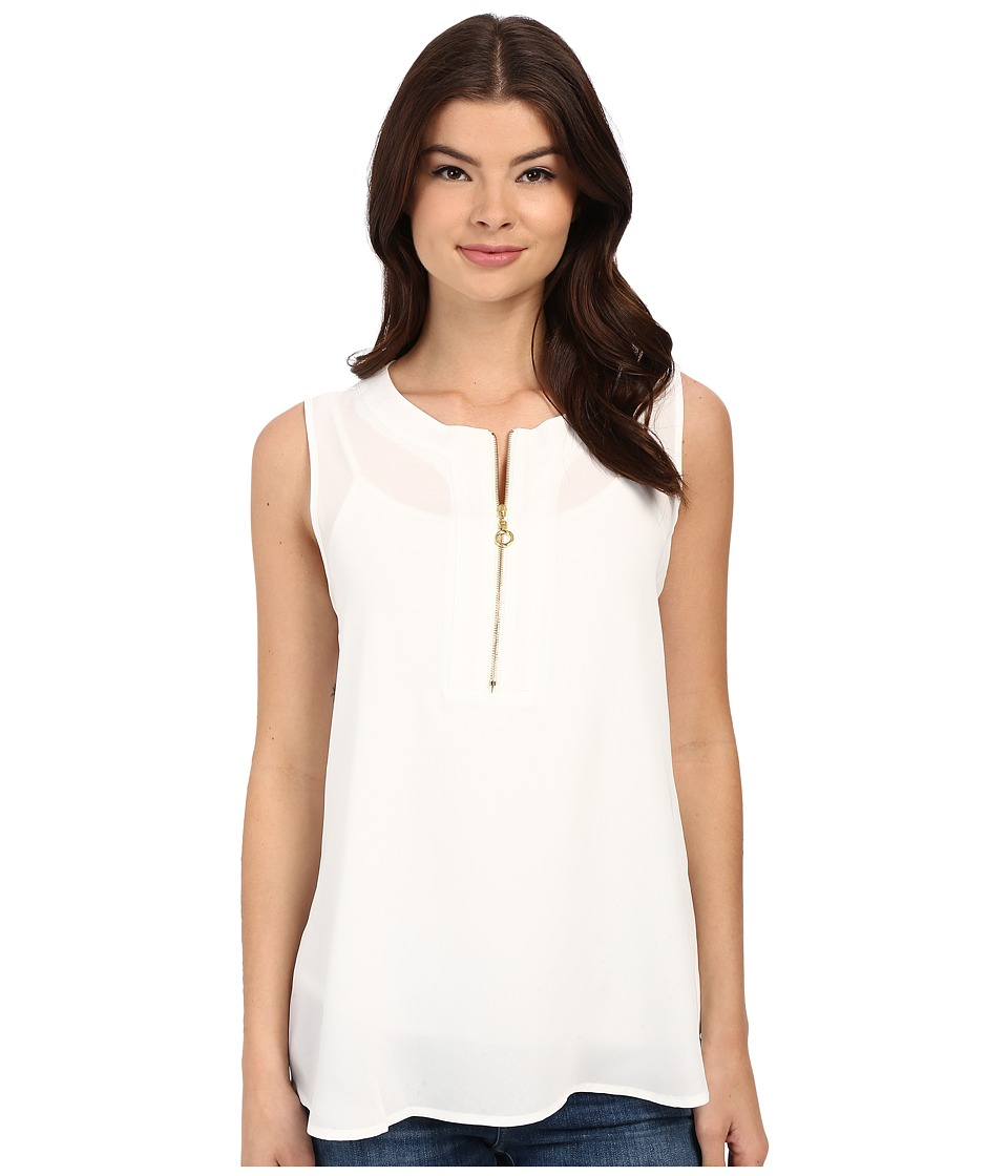 Christin Michaels - Orleans Top (Sea Shell) Women's Clothing
