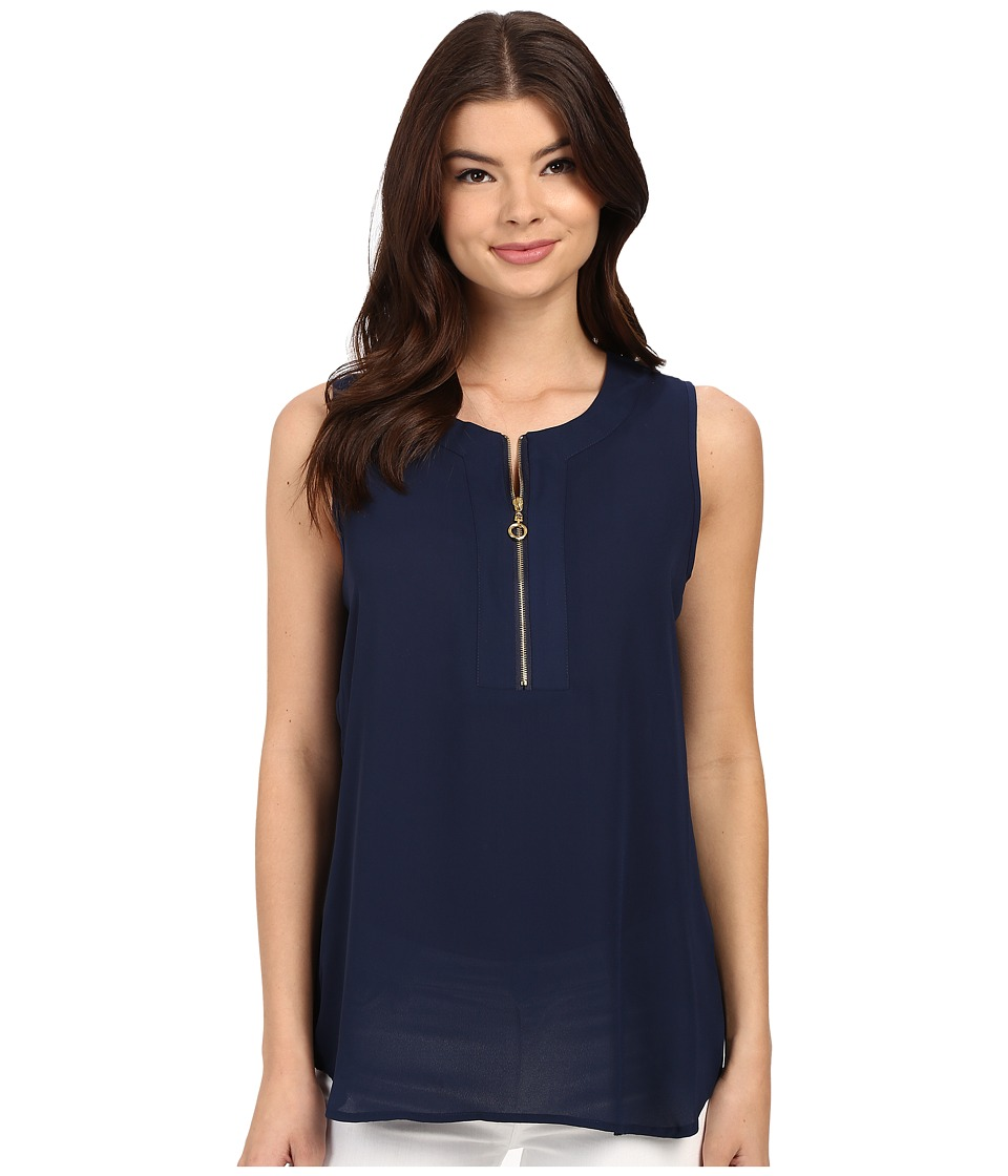 Christin Michaels - Orleans Top (Ship Shape Navy) Women's Clothing