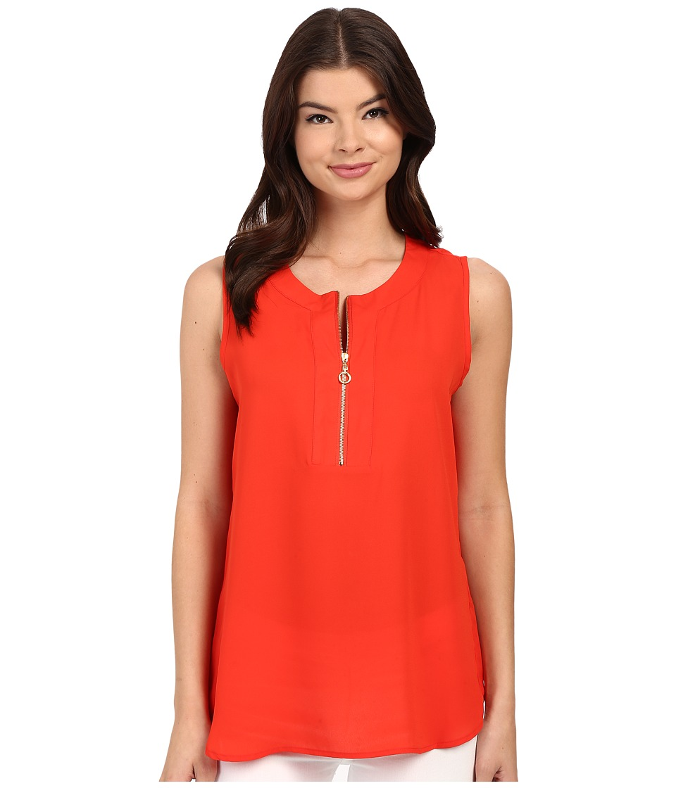 Christin Michaels - Orleans Top (Summer Poppy) Women's Clothing