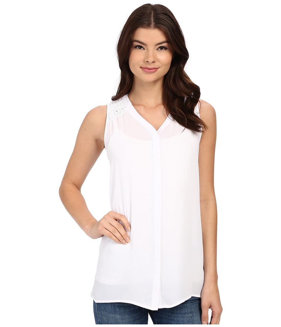 Christin Michaels - Martinique Top (White) Women's Clothing