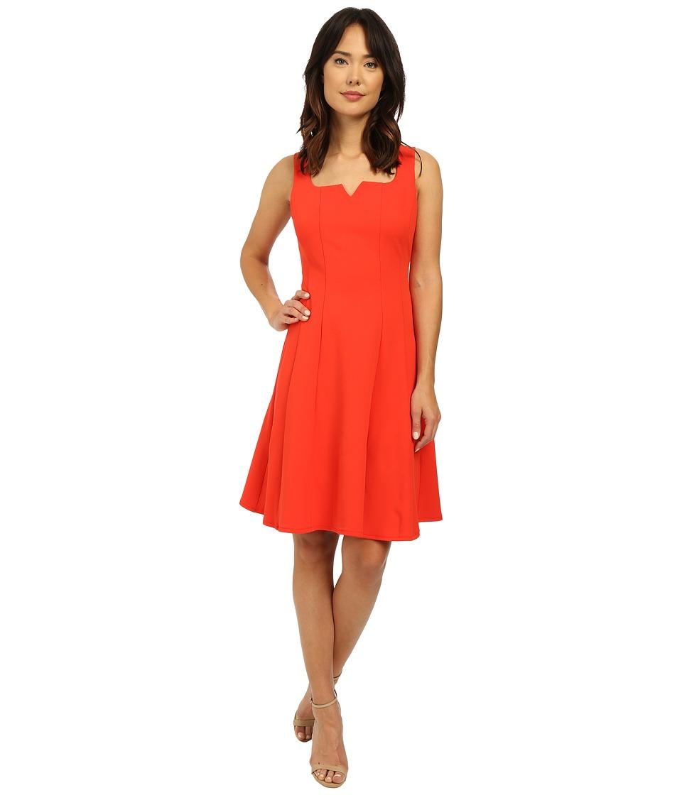 Christin Michaels - Melanie Fit N Flair Dress (Cherry) Women's Dress