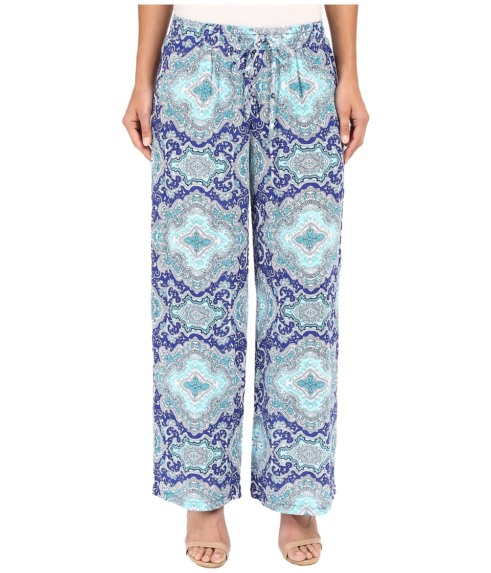 Christin Michaels - Val-De-Marne Pants (Mint Blue Multi) Women's Casual Pants