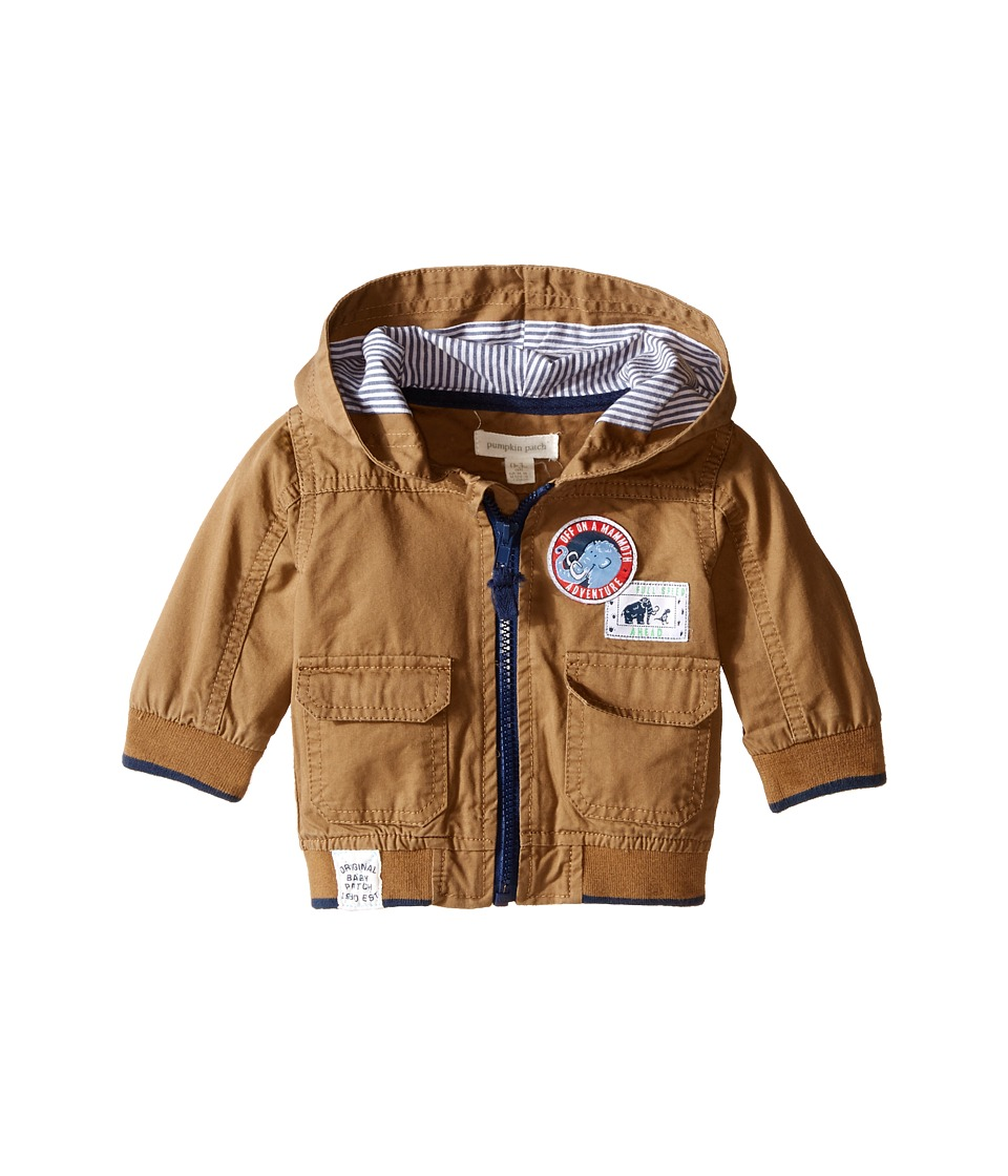 Pumpkin Patch Kids - Woven Jacket (Infant) (Treacle) Boy's Coat