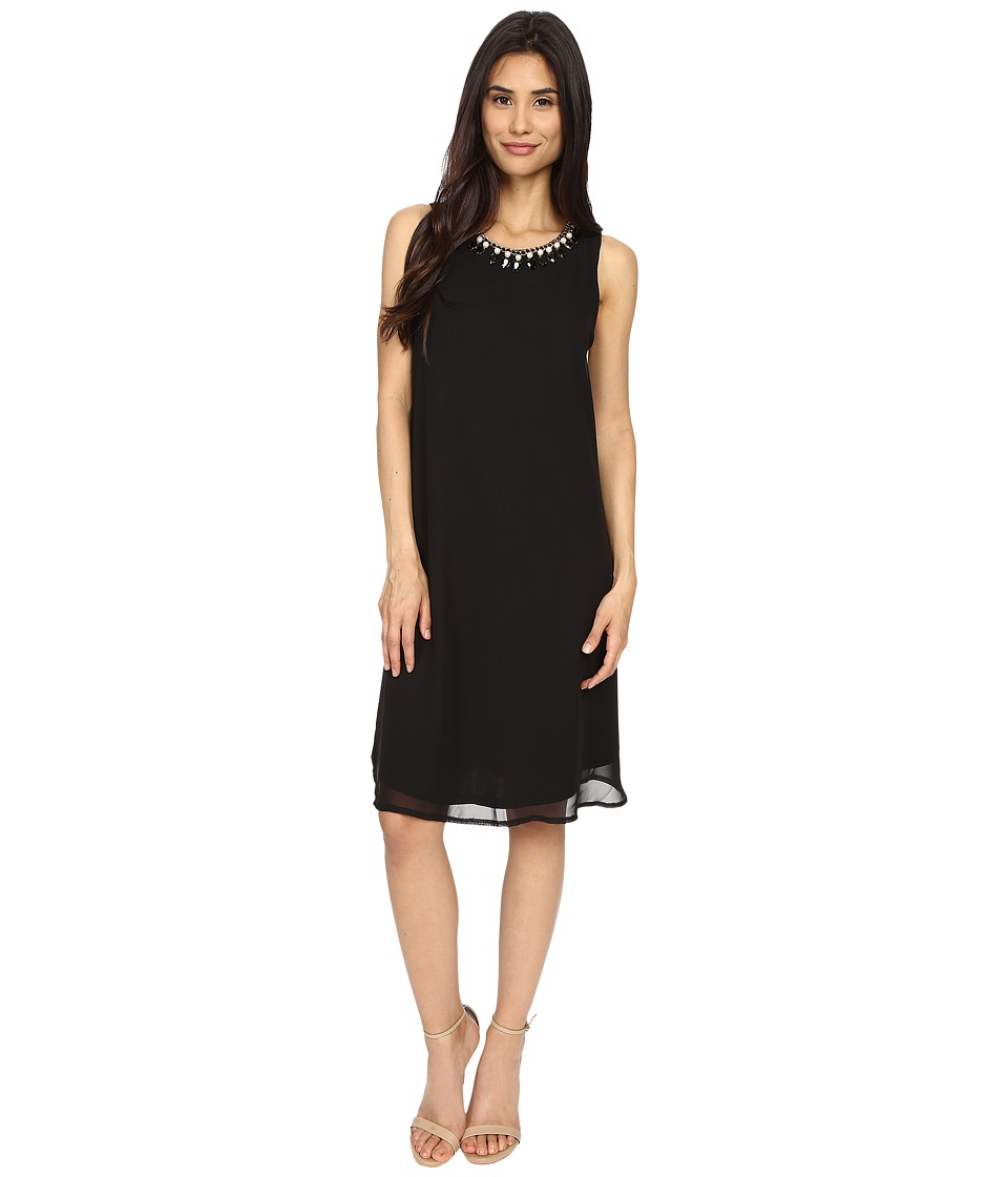 rsvp - Altamura Trapeze Dress (Black) Women's Dress