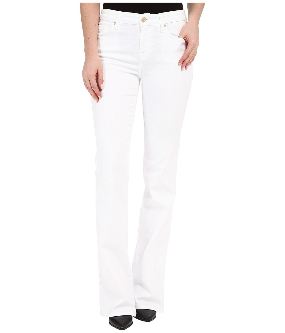 7 For All Mankind - Kimmie Bootcut in Clean White (Clean White) Women's Jeans