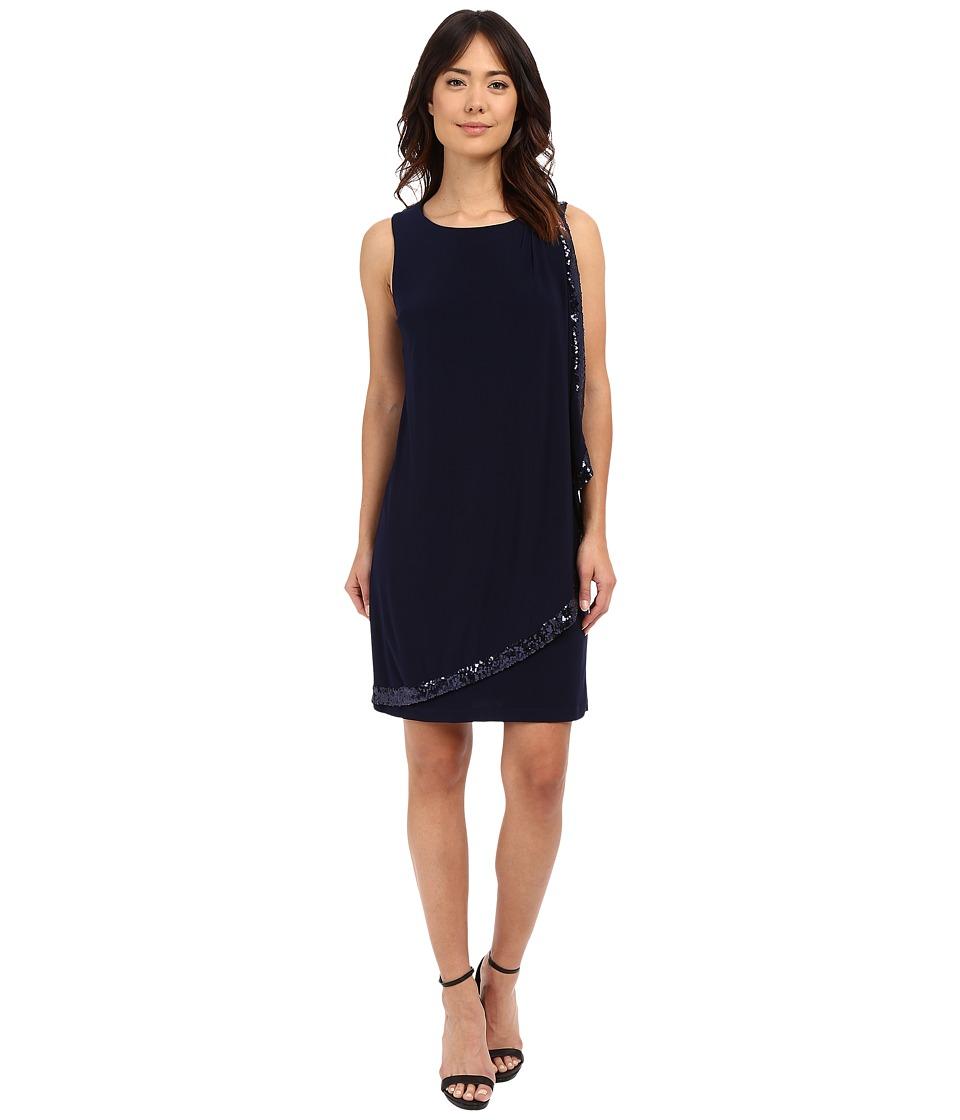 rsvp - Potenza Sheath Dress (Navy) Women's Dress