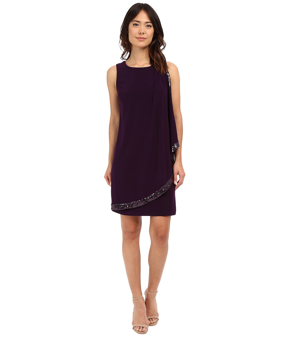 rsvp - Potenza Sheath Dress (Eggplant) Women's Dress