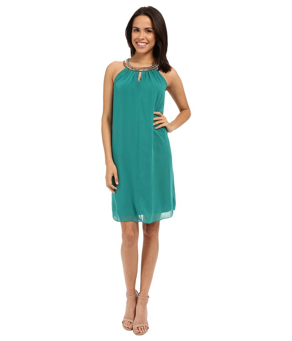 rsvp - Cremona Embellished Dress (Green) Women's Dress