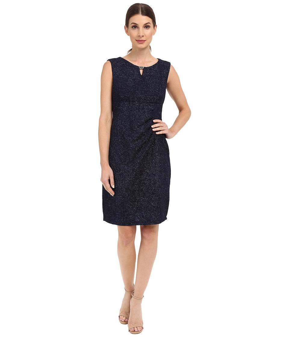 rsvp - Marsala Glitter Dress (Navy) Women's Dress